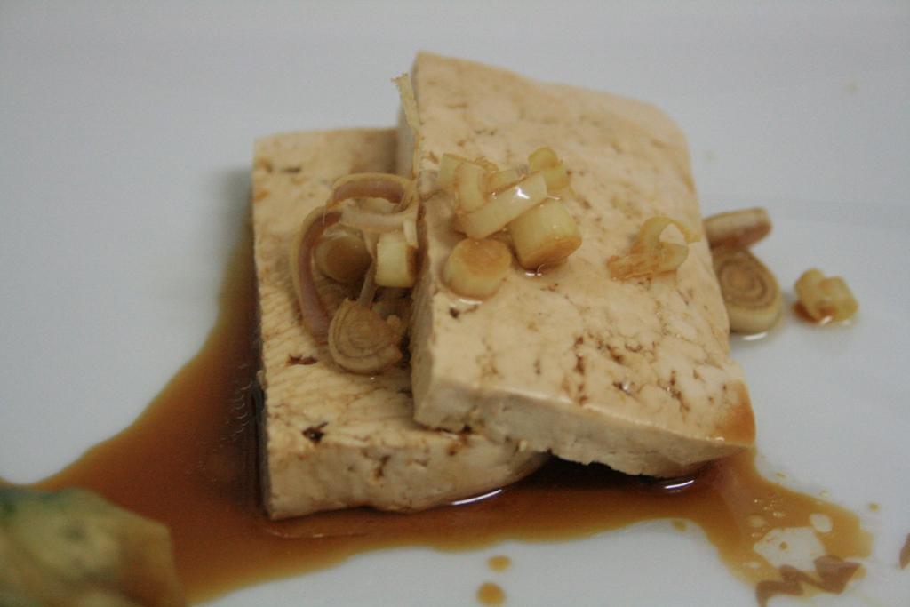 Tofu à la sauce de soja