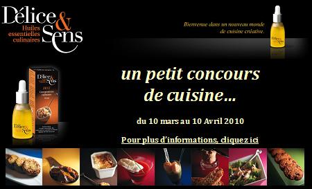 Concours Délice & Sens