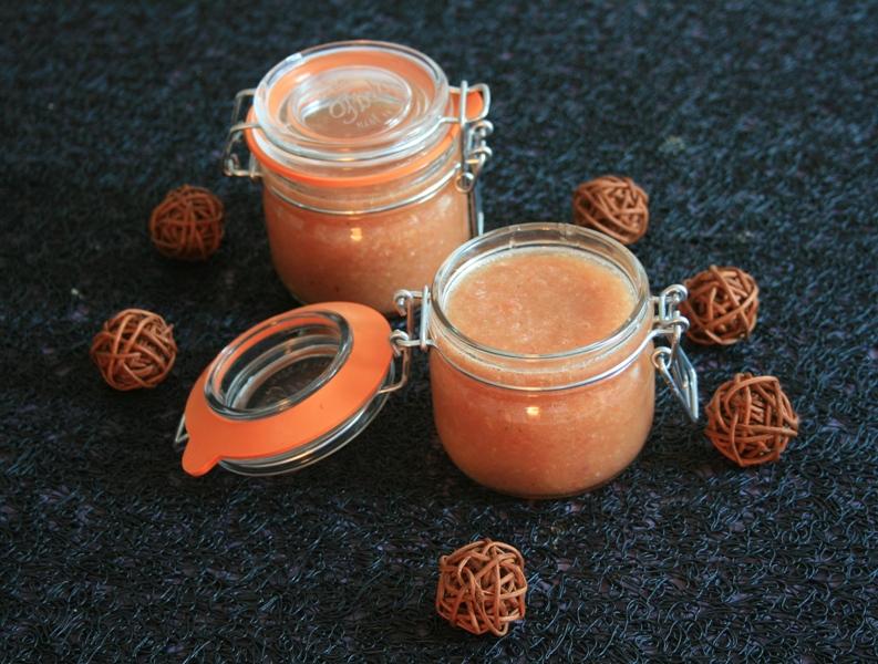 Soupe froide de tomates et concombre