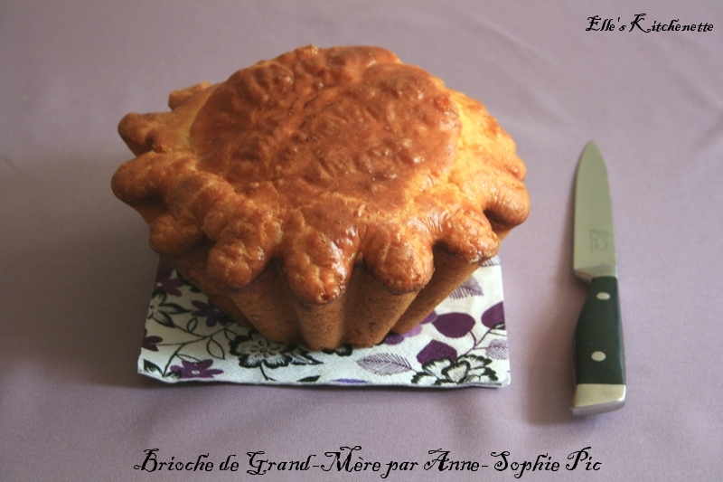 Brioche de Grand-Mre par Anne-Sophie Pic